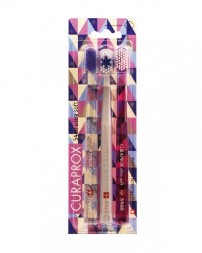 CS 5460 Snowflake Special Edition Trio, Pink