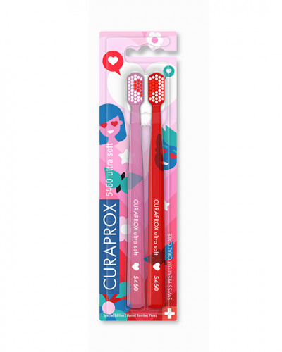 Brosse à dents CS 5460 Love Edition, 2 pcs